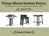 Vintage Mission Furniture Projects cover
